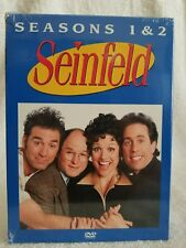 Seinfeld - Seasons 1 & 2 One & Two (DVD, 2004, 4-Disc Set) Widescreen New Sealed