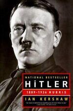 Hitler: 1889-1936 Hubris, Ian Kershaw, Acceptable Book