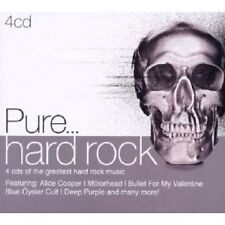 PURE...HARD ROCK 4 CD NEUWARE MIT ALICE COOPER, SCORPIONS UVM.
