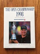 1998 The Open Championship Mark O' Meara SIGNED copy Royal Birkdale HCDJ Golf