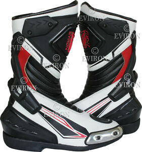 Motorcycle Boots New design by Eviron in Blue and Red