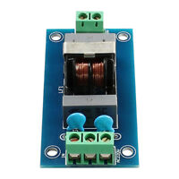 Power Supply Filtering Board 3A EMI Filter for DAC Amplifier Module Sensor Sound