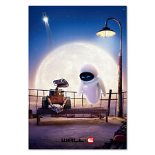 Wall-E Movie Poster -  Promotion Art Wall e and Eve - High Quality Prints