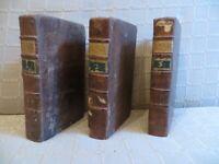 la vie des saints des trois ordres de saint François par Ferot 1779 3 volumes