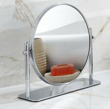 Beauty Deck Stand Bathroom Double Side Magnifying Makeup Round Anti-Fog Mirror