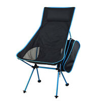Portable Lightweight Folding Camping Chair Backpacking Hiking Picnic Outdoor
