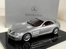 Minichamps 1/43 Scale B66961974 Mercedes Benz McLaren SLR Silver diecast model