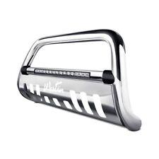 "Westin 3""Ultimate Chrome LED Bull Bar w Brushed Skid Plate For 11-18 Ram 2500"