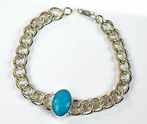 Turquoise Feroza Gemstone Bollywood Fashion Salman Khan Style Men's Bracelet-22