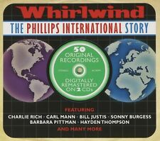 Whirlwind-phillips international story Charlie rich/Carl homme/+ 2 CD NEUF