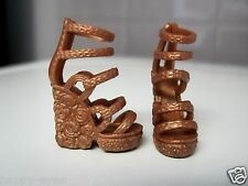 Barbie Doll Clothes/Shoes *Mattel Tall Strappie Wedgies *New* #1625