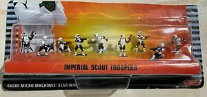 1997 Galoob MICRO MACHINES Star Wars IMPERIAL SCOUT TROOPERS  (SEALED) MIB NRFB