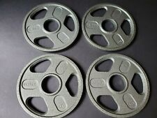 """5 Lb Weight Plates Set of 4-(20lbs Total) Brand New 2"""" Olympic Plates- Quality!"""