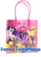 6 pcs My Little Pony Party Hasbro Favor Bags Candy Treat Birthday Gift Toy Sack