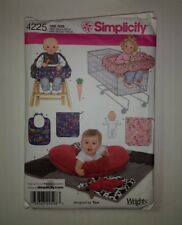 Simplicity 4225 Baby Accessories Pillow Cover Bunny Seat Doll Bib Carrot