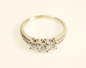 3-Stone Past Present Future Diamond Ring