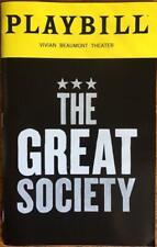 The Great Society Playbill  Brian Cox  Richard Thomas Gordon Clapp  Marc Kudisch