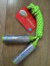 NEW CHILDRENS GREEN SKIPPING ROPE