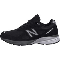 Men's New Balance 990V4 Walking Running Shoe Black/White M990BK4
