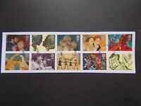 GB 1995 Commemorative Stamps~Greetings~Very Fine Used Set~on piece~ex fdc~UK