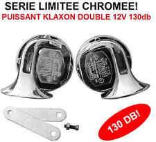 Puissant Klaxon Double 130db Série Limitée chromée RAID 4X4 HDJ KDJ PATROL LAND