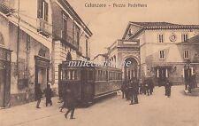 CATANZARO -Piazza Prefettura - tram, tranvia 1917