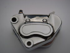 Chrome Front Brake caliper with Pads for Harley-Davidson 2000 TO 2007 910864