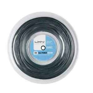 (0,90€/m) Luxilon Alu Power Rough 1,25 mm 200 m Tennissaite