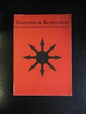 Tradition and Revolution Troy Southgate 1st NAM National Anarchism alt right oop