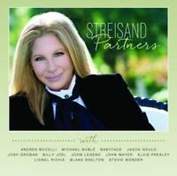 BARBRA STREISAND Partners CD BRAND NEW Bonus Tracks