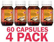 Curcumin Advanced 60 Capsules - Fusion Health