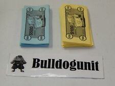 2011 Cars 2 Operation Board Game Replacement Money Bills Only Parts Pieces