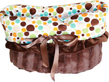 Pet Flys Fall Party Dots Snuggle Bugs Pet Bed, Carrier Bag, Car Seat All-in-One