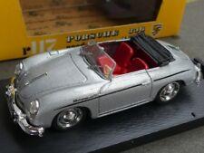 1/43 Brumm Porsche 356 Roadster silber #117