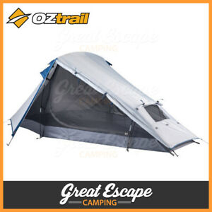 OZtrail Nomad 2 Person Tent Compact Lightweight Hiking Tent