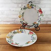 """Set of 2 Corelle Chutney Dinner Plates 10 1/4"""" Retired Pattern"""