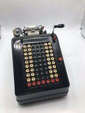 Vintage 1920s LC Smith Corona Add Lister Machine