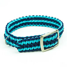 Paracord Double Cobra Collar - Belt Style