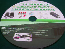 CB & HAM RADIO HOMEBREW DUMMY LOAD BUILDING MANUAL ON CD