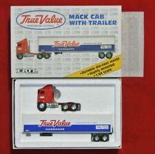 NOS 1991 ERTL 1:64 Diecast True Value Hardware Tractor Trailer Mack Truck Model