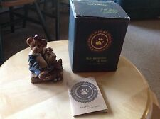 NIB Boyds Collection BAILEY Bear with Suitcase