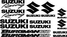 Suzuki Burgman 650 graphics decals motorbike motorcycle stickers FREE P&P to UK