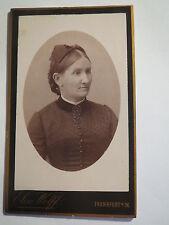 Frankfurt a. M. - 1889 - Frau im Kleid - Portrait / CDV