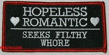 1%er Bikers Filthy Whore Motorcycle Jacket Vest  Patch