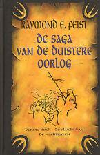SAGA VAN DE DUISTERE OORLOG - EERSTE BOEK VLUCHT VAN DE NACHTRAVEN - R. Feist