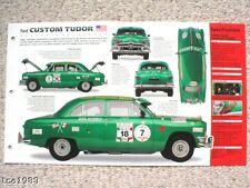 1950 FORD CUSTOM TUDOR Carrera-PanAmericana SPEC SHEET