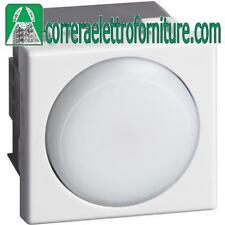 BTICINO A5780N MATIX TORCIA LED ESTRAIBILE RICARICABILE 2 MODULI