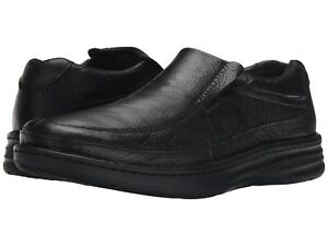 Drew Men's Bexley Extra Depth Slip On Shoes - Black Calf Size 14 Wide NWB