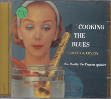 BUDDY DE FRANCO - cooking the blues + sweet & lovely CD