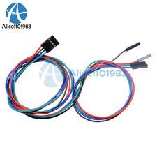 10Pcs 70cm 4Pin Cable Female-Female Jumper Wire for Arduino 3D Printer Reprap AL